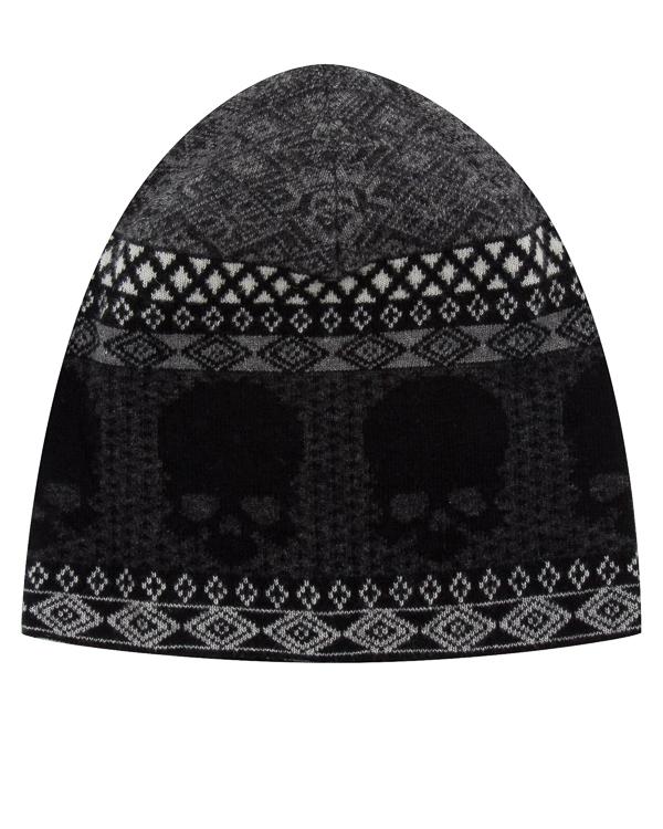 шапка из шерсти с узором  артикул UCJQ08CAP марки Gemma H купить за 3400 руб.