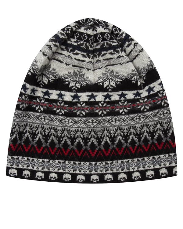 шапка из шерсти с зимним узором артикул UCJQ15CAP марки Gemma H купить за 3400 руб.