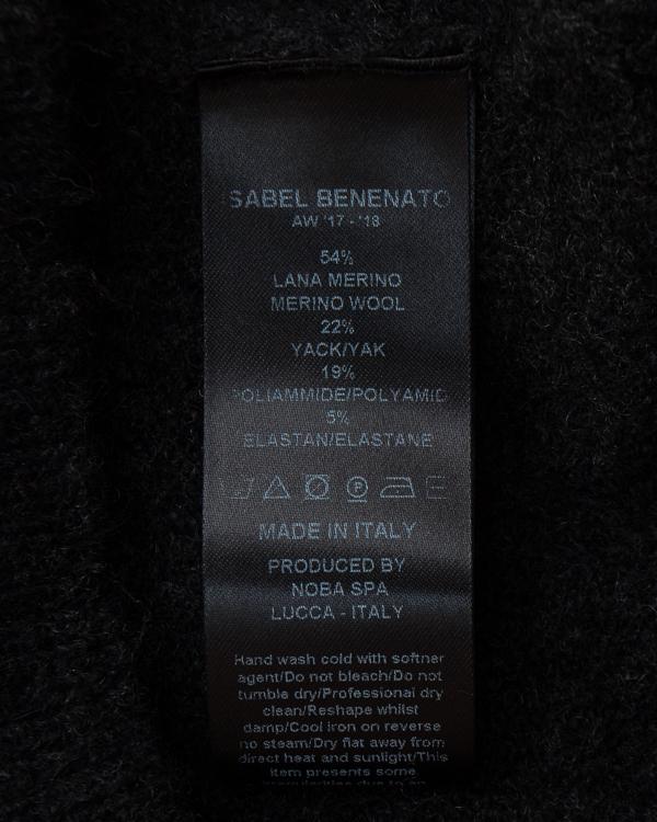 мужская джемпер Isabel Benenato, сезон: зима 2017/18. Купить за 12500 руб. | Фото $i