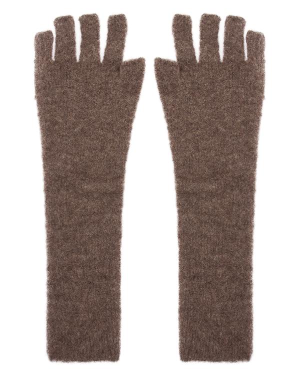 перчатки митенки из шерсти  артикул UK38CO-18 марки Isabel Benenato купить за 9200 руб.