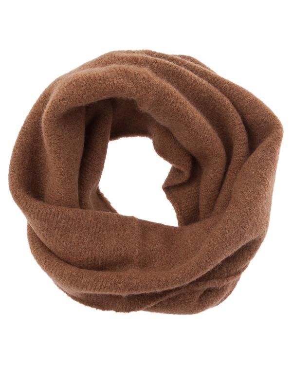 шарф снуд из шерсти  артикул UK39CO-18 марки Isabel Benenato купить за 11800 руб.