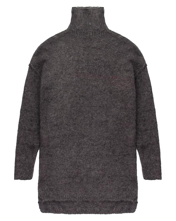 свитер удлиненного силуэта из мохера и шерсти альпаки  артикул UK43F17 марки Isabel Benenato купить за 15200 руб.