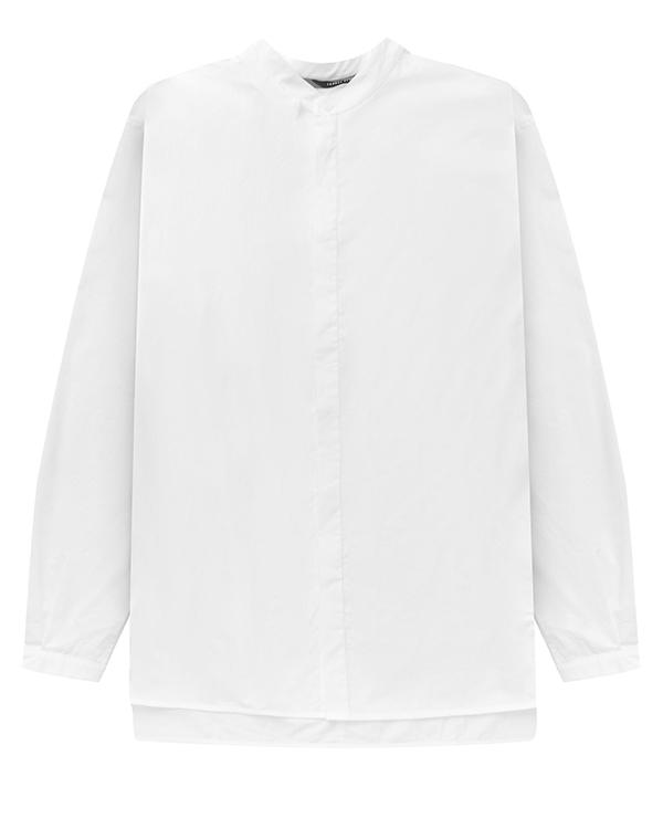 рубашка из хлопка с воротником-стойкой артикул UW13F17 марки Isabel Benenato купить за 18000 руб.