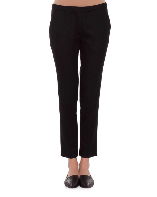 брюки прямого кроя, длиною семь восьмых артикул VPD205AVD002 марки Veronique Branquinho купить за 11100 руб.