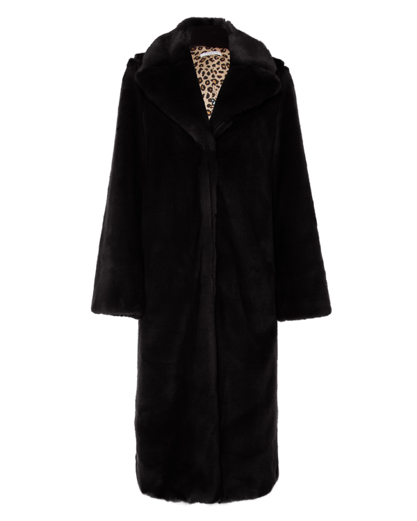 пальто из экомеха артикул VV109 марки VIVETTA купить за 56700 руб.