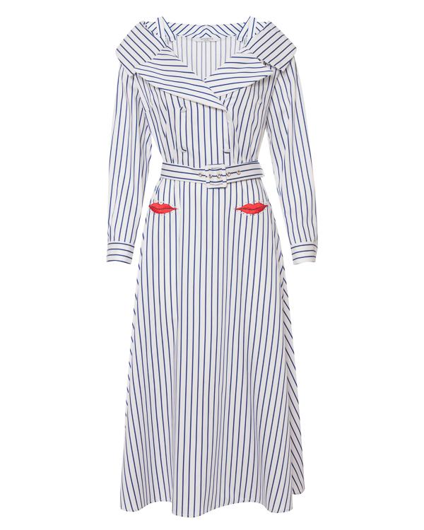 VIVETTA из хлопка в полоску с вышивкой артикул  марки VIVETTA купить за 15900 руб.