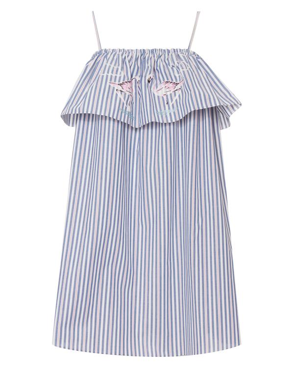 VIVETTA из хлопка в полоску с вышивкой артикул  марки VIVETTA купить за 17100 руб.