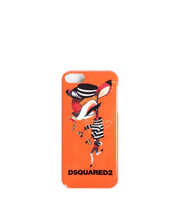 аксессуары чехол для iPhone DSQUARED, сезон: зима 2014/15. Купить за 1700 руб. | Фото $i