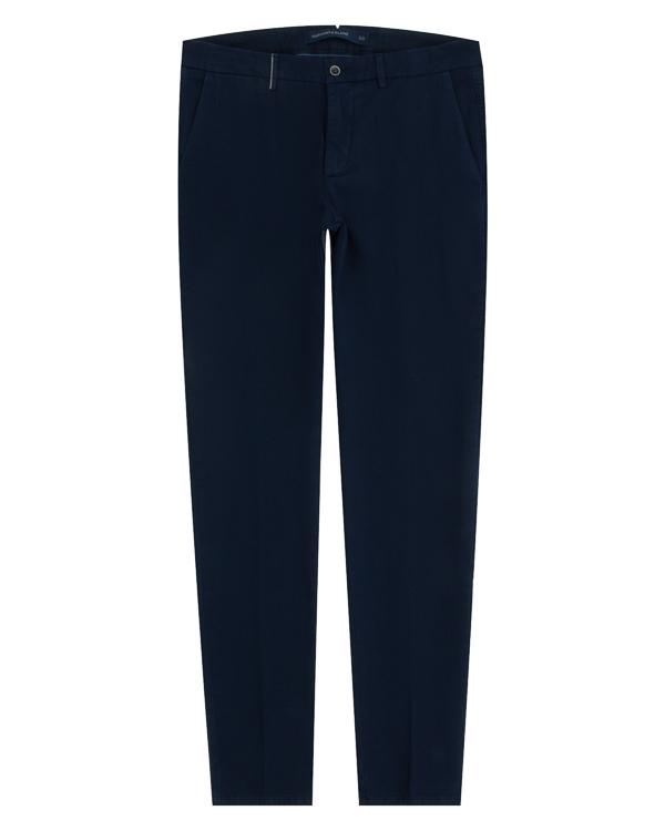 брюки зауженного силуэта из хлопка артикул W3231 марки Harmont & Blaine купить за 10100 руб.