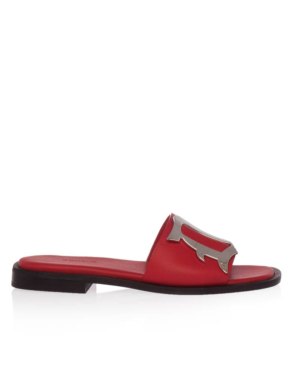 сандалии из мягкой кожи  артикул WS147 марки DONDUP купить за 21400 руб.