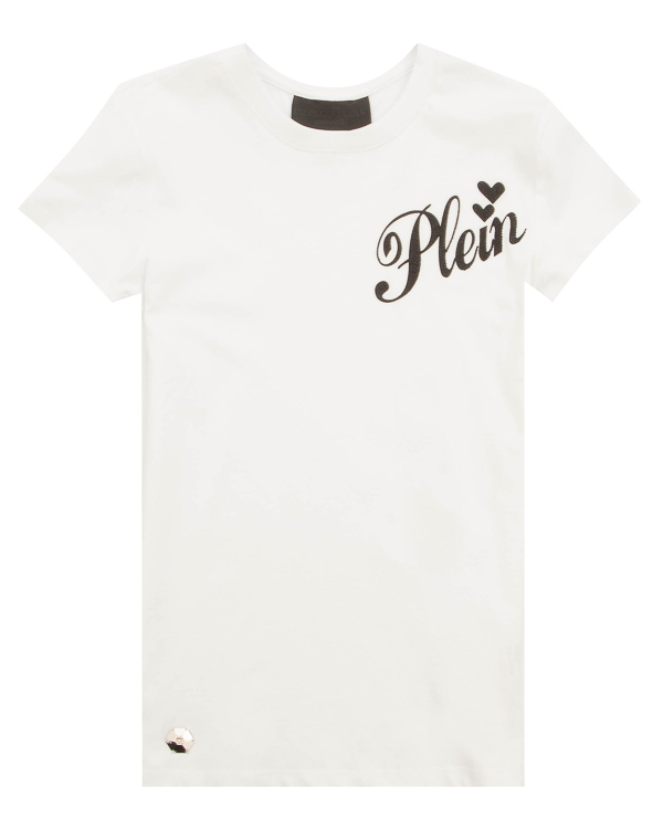 PHILIPP PLEIN облегающего силуэта с принтом артикул WTK0698 марки PHILIPP PLEIN купить за 24600 руб.