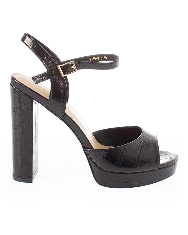 Just Couture из кожи на высоком каблуке  артикул  марки Just Couture купить за 8200 руб.