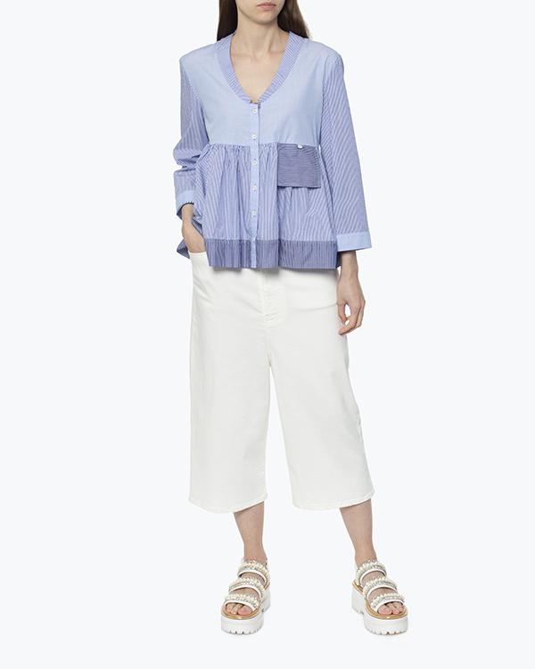 женская блуза SEMI-COUTURE, сезон: лето 2017. Купить за 5800 руб.   Фото $i