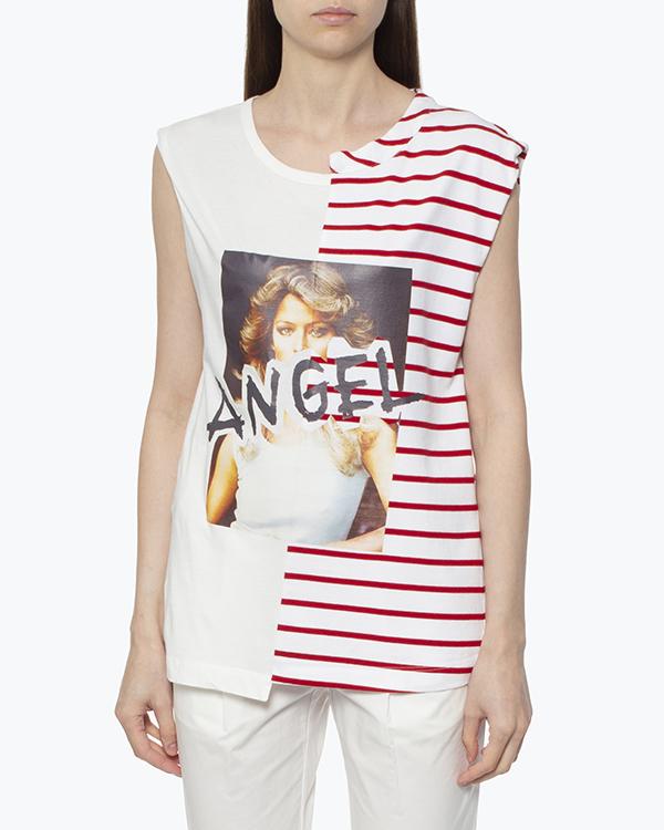 женская футболка SEMI-COUTURE, сезон: лето 2017. Купить за 5000 руб.   Фото $i