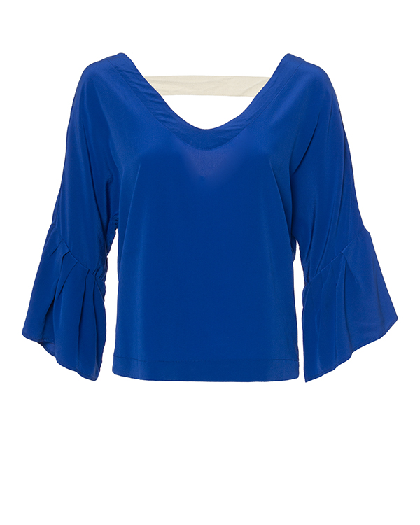женская блуза SEMI-COUTURE, сезон: лето 2017. Купить за 8300 руб. | Фото $i