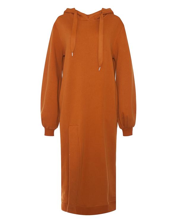 платье толстовочного вида из хлопка  артикул ZADIE марки 5Preview купить за 11300 руб.