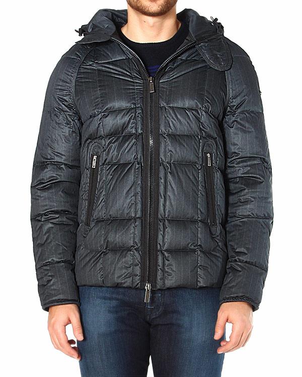 EMPORIO ARMANI с вертикальными карманами на молниях и объемным капюшоном артикул ZNK01 марки EMPORIO ARMANI купить за 21100 руб.