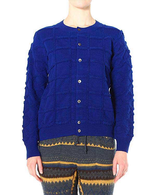 ZUCCA из плотной фактурной шерсти узорной вязки артикул  марки ZUCCA купить за 16600 руб.